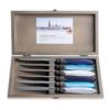 Murano Murano 6 Steakmesser in Kiste Pacific Mix