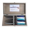 Murano Murano 6 Steak Knives in Box Sea Mix