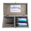 Murano Murano 6 Steakmesser in Kiste Sea Mix