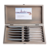 Kom Amsterdam Venezia 6 Steak knives in box Transparent