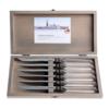 Kom Amsterdam Venezia 6 Steakmesser in Kiste Transparent