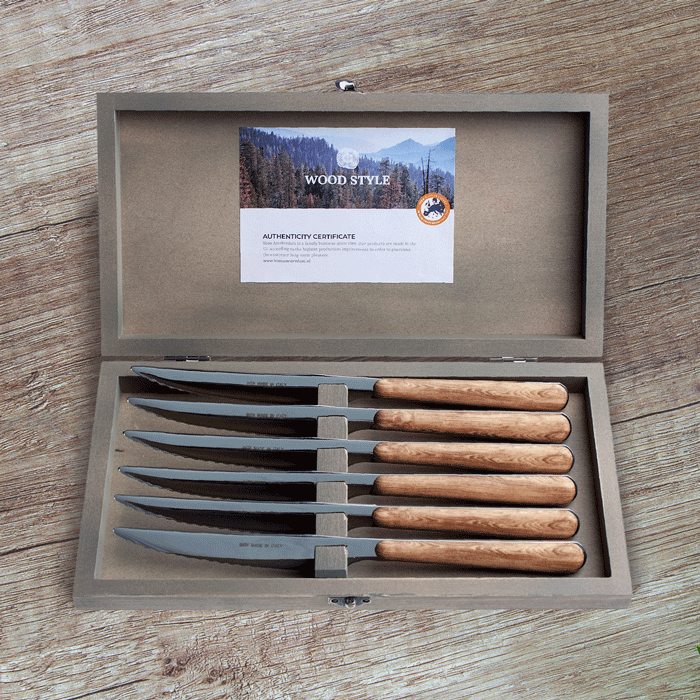 6-piece steak knife sets