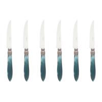 Murano 6 Steakmesser in Kiste GrŸn