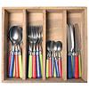 Couvert à la Carte 24-piece cutlery set woven mix