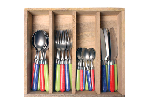 Couvert à la Carte 24-piece cutlery set woven mix