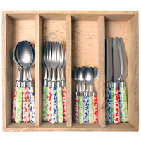 Couvert à la Carte 24-piece cutlery set primula mix
