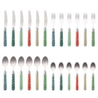 Couvert à la Carte 24-piece cutlery set Tuna