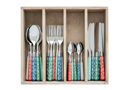 Couvert à la Carte 24-piece cutlery set Tuna