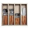 Laguiole Laguiole cutlery set 24-piece olive wood