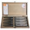 Laguiole Laguiole 6 Steakmesser 1,2 mm Edelstahl in einer Box