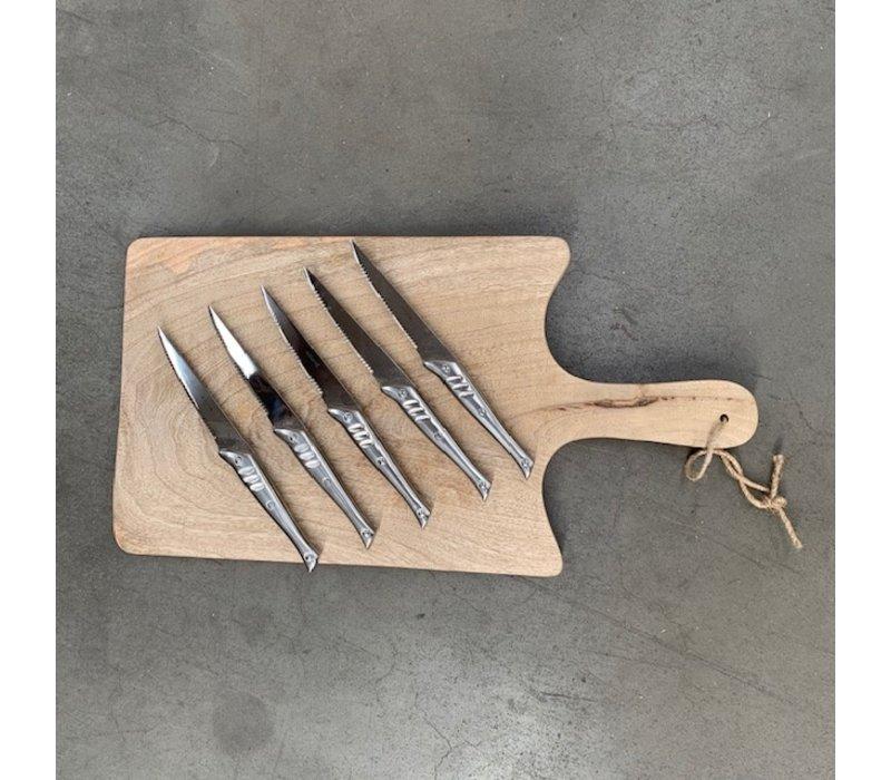 SLLG05 Set mit 5 Steakmessern Jean Dubost Laguiole