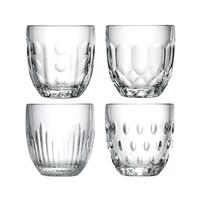 Rochère Mix Set 4 Wasser/Tumbler Gläser 25 cl Retro