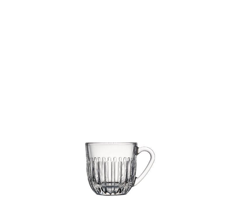 Rochère Set mit 6 Espressogläsern 9 cl Breton