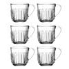 Kom Amsterdam Rochère set of 6 cappuccino / tea glasses 27 cl Breton