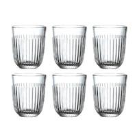 Rochère set 6 water/tumbler glazen 29 cl Breton