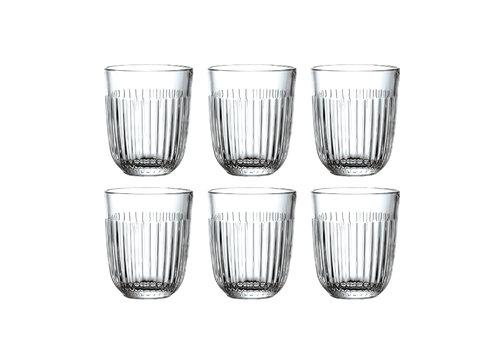Kom Amsterdam Rochère set of 6 water / tumbler glasses 29 cl Breton