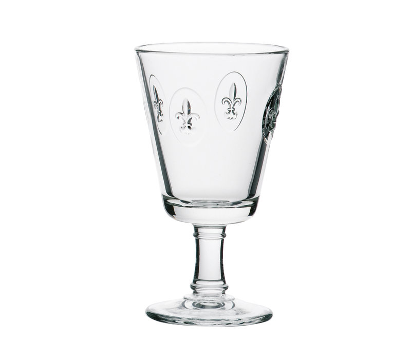 Rochère set of 6 wine glasses 24 cl French Lily