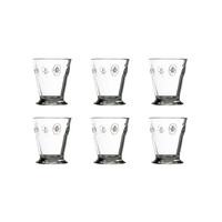 Rochère set of 6 water / tumbler glasses 27 cl French Lily