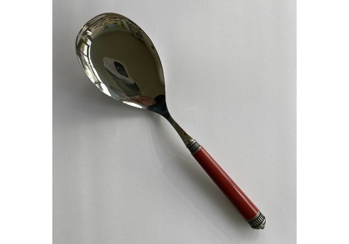 Bugatti Bugatti Opera serving spoon 26 cm red