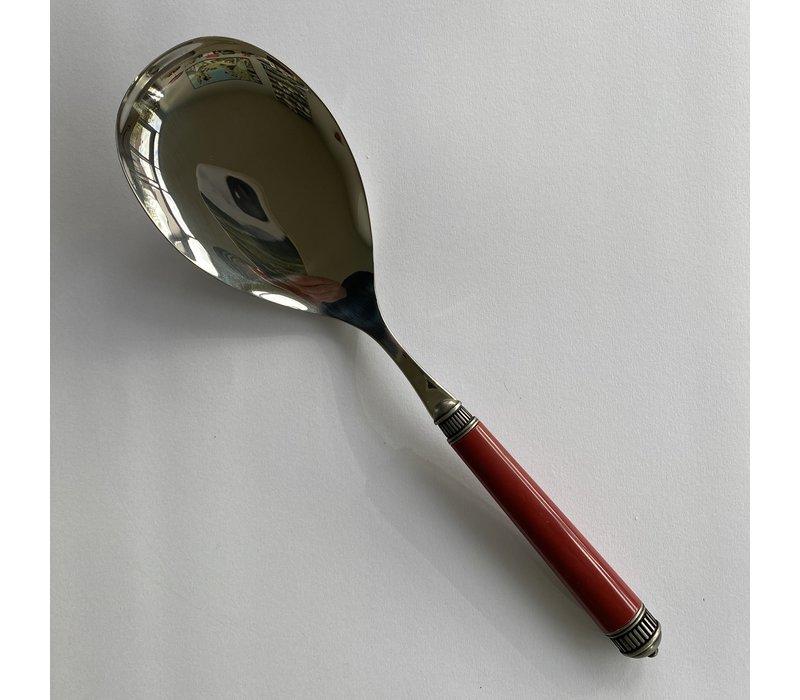 Bugatti Opera serving spoon 26 cm red
