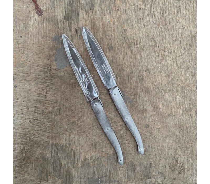 BF2001 6 Laguiole Steakmesser im Lederbeutel - Copy