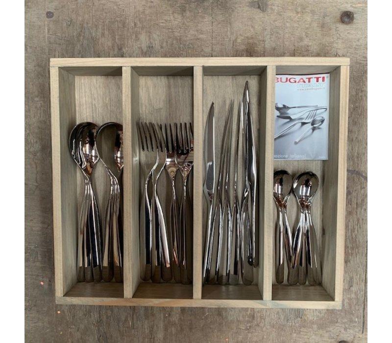 BF2031 24-piece cutlery set Bugatti stainless steel in box