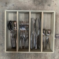 BF2033 24-piece cutlery set Bugatti stainless steel in box - Copy