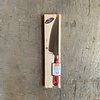 Laguiole BF2051 Laguiole cheese knife blade 12 cm, thickness 1.5 mm with red wooden handle in display