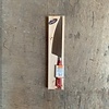 Laguiole BF2050 Laguiole kitchen knife blade 12 cm, thickness 1.5 mm with red wooden handle in display - Copy