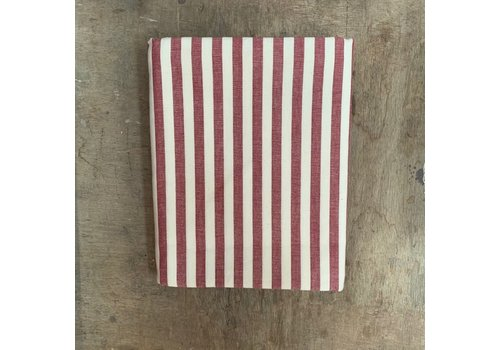 Kom Amsterdam BF2056 Tablecloth 140x240 cm stripe red