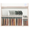 Laguiole Laguiole Cutlery set 24-piece Mixed Wood in Box