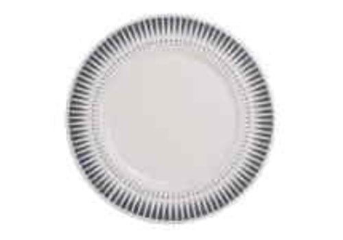 Kom Amsterdam Dépôt d'Argonne Breakfast Plate 23cm Arlequin, Grey