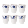 Dépôt d'Argonne Dépôt d'Argonne Set mit 6 Cup Rose, Blau