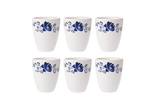 Dépôt d'Argonne Dépôt d'Argonne set of 6 Cup Rose, Blue