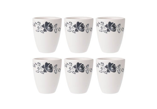 Dépôt d'Argonne Dépôt d'Argonne set of 6 Cup Rose, Gray