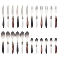 "Murano 24-piece Dinner Cutlery ""Classic Mix"" in Box"