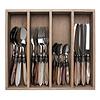 "Murano Murano 24-piece Dinner Cutlery ""Ranger Mix"" in Box"