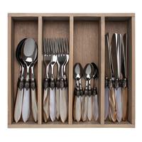 "Murano 24-piece Dinner Cutlery ""Marrakesh Mix"" in Box"