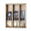 """Murano Murano 18-piece Breakfast Cutlery """"Cream"""" in Box"""