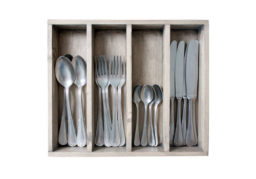Kom Amsterdam Brocante 24-piece Dinner Cutlery No. 6 in Box