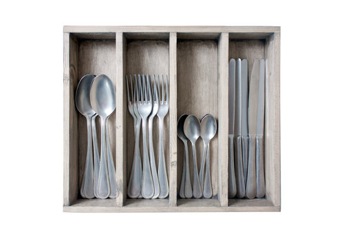 Kom Amsterdam Brocante 24-piece Dinner Cutlery No. 7 in Box