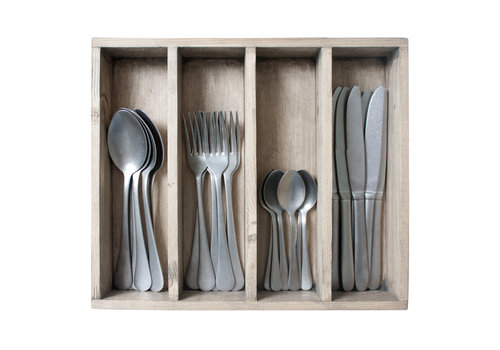 Kom Amsterdam Brocante 24-piece Dinner Cutlery No. 9 in Box