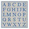 French Classics ABC Blauw 6 Pakjes 20 Servetten