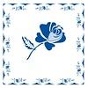 French Classics Roos Blauw 6 Pakjes 20 Servetten