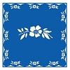 French Classics Flower Blue 6 Packs 20 Napkins