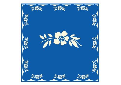 French Classics Blumenblau 6 Packungen 20 Servietten