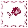 French Classics Rose Red 6 Packs of 20 Napkins