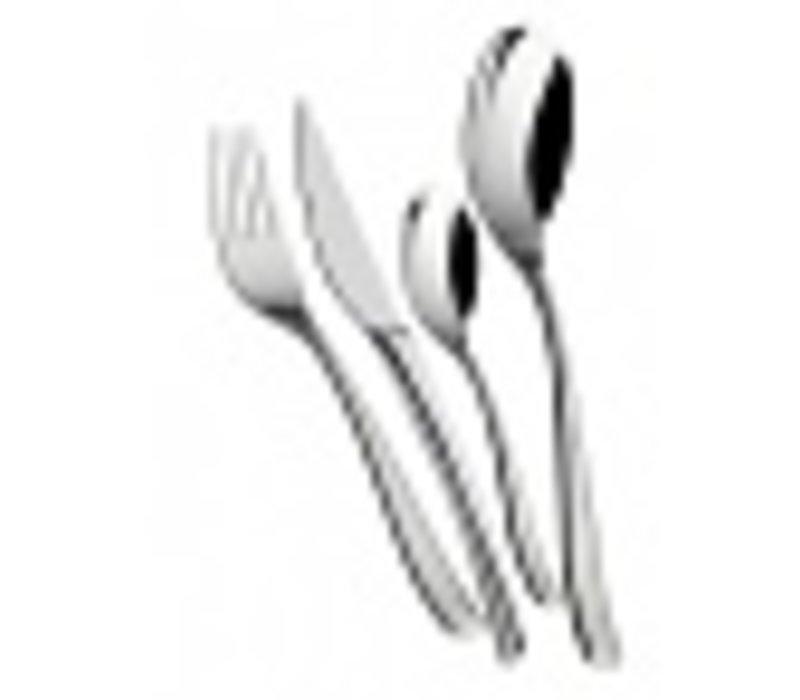 Bugatti Amalfi 24-piece stainless steel cutlery in wooden box
