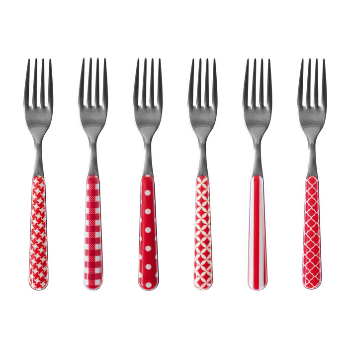 Butter knives and cake forks