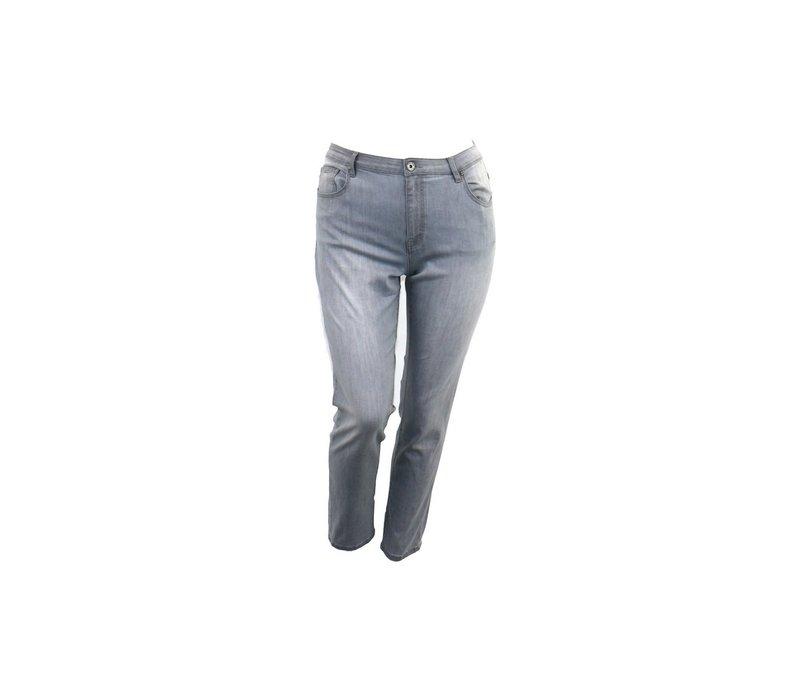 Jesscia jeans donker grijs